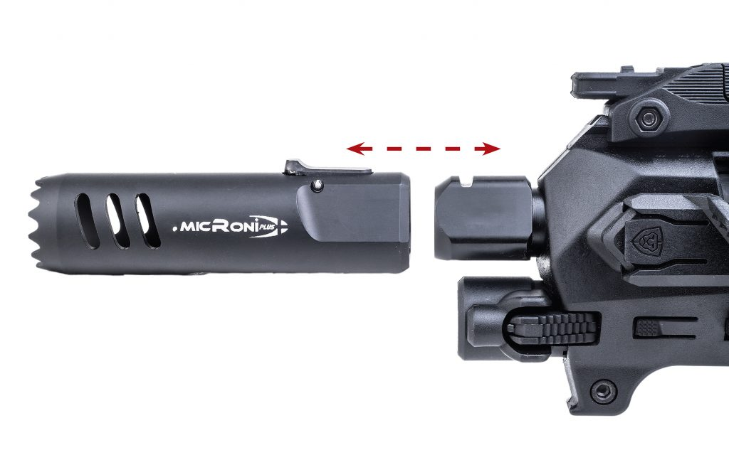 Micro Roni Gen 4 (G4) CAA Industries PDW Converter for Generation 3,4,5 Glock 17,22,31,19,19X, 23 & 32 9
