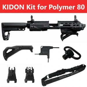 IMI Defense KIDON Innovative Pistol to Carbine Platform for Polymer 80 Frames (P80) 19