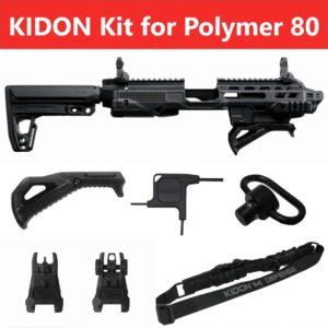 IMI Defense KIDON Innovative Pistol to Carbine Platform for Polymer 80 Frames (P80) 4