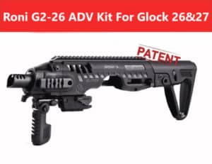 ROADV G2-26 CAA Roni Advanced Kit for Glock 26 & 27 18