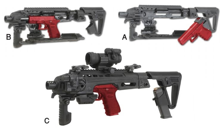 RONI B Recon CAA Tactical PDW Conversion Kit for Beretta USA Made 1
