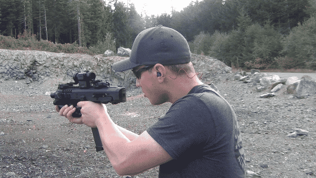 Video Review and Range Test Glock 19 Micro RONI Recon 4