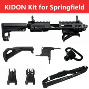 IMI Defense KIDON Innovative Pistol to Carbine Platform for Springfield XD & HS2000 21