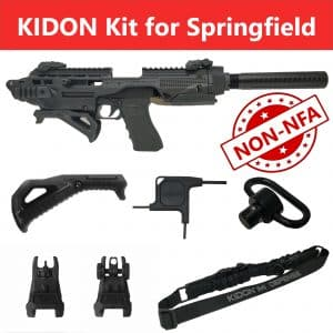 KIDON NON-NFA for Springfield XD & HS2000 (IMI Defense) 21