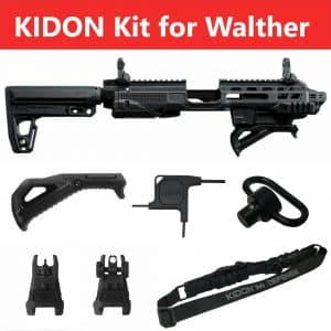 IMI Defense KIDON Innovative Pistol to Carbine Platform for Walther PPQ 5″, 4″: 9mm/.40/.45 Calibers 22