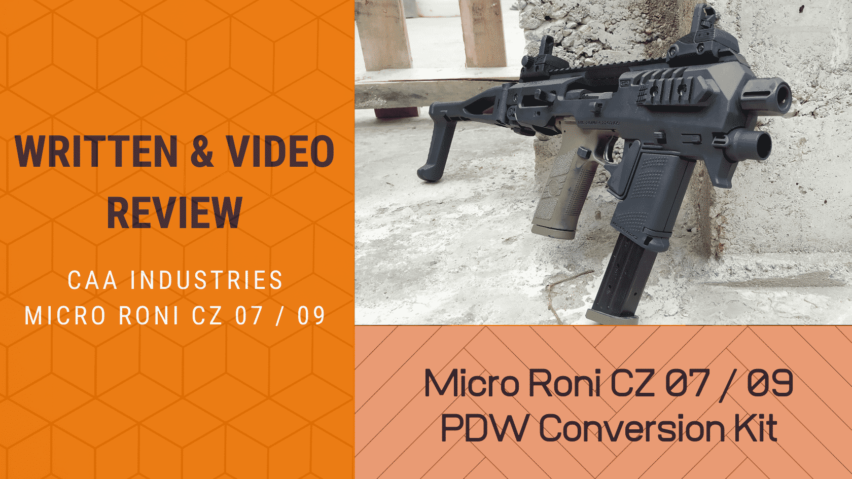 Written Video Review Micro RONI for CZ P-07P-09 review