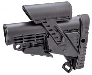 CBSCP CAA Tactical Collapsible Buttstock with Integrated Adjustable Cheek Piece 40