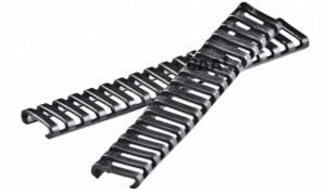 LRC CAA Tactical Ladder Style Low Profile Rail Covers for Picatinny Rails Rubber made 1