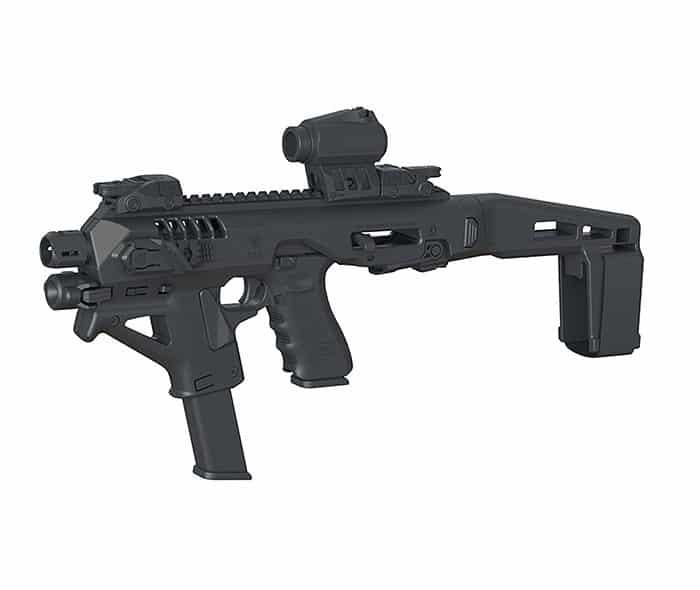 Micro Roni Glock 26 & 27 Stabilizer Gen 4 X CAA Industries NEWEST PDW Conversion Kit 1