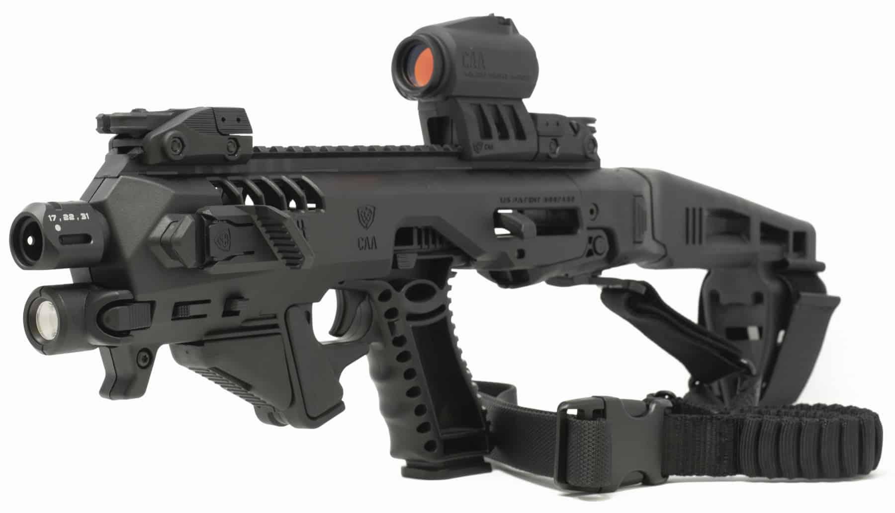 Micro Roni Glock 26 & 27 Stabilizer Gen 4 X CAA Industries NEWEST PDW Conversion Kit 2