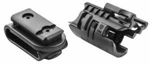MLA CAA Gearup 4 in 1 Modular Flashlight Adapter - Attaches to the Belt, Pistol Mounted, Hand Held and Fits Micro Roni 12