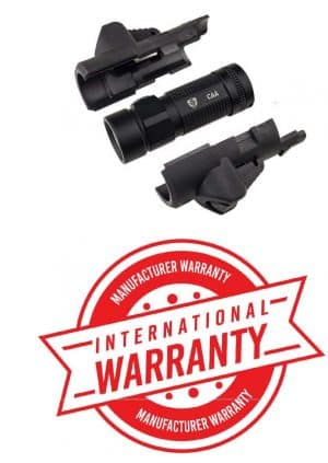MRFL CAA Industries Micro Roni Integral Front 500 & 600 Lumens Flashlight for Both Left and Right Users 4