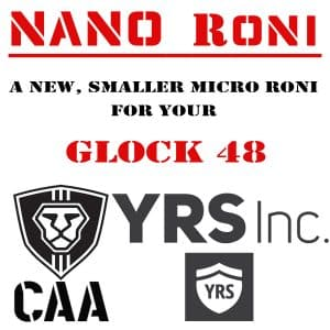 Nano Roni G48 CAA Industries New Micro Roni conversion kit for Glock 48 3