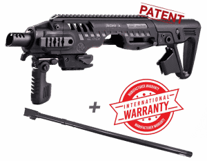 "RONI 16"" CAA Gearup PDW Conversion Kit with IGB 16"" Barrel for Glock 17, 19, 22 & 23 - USA ONLY! 6"