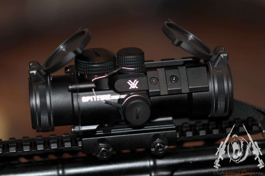 Vortex Optics SPR-1303 Spitfire 3x Review by an Ex Law Enforcement from Russia 12