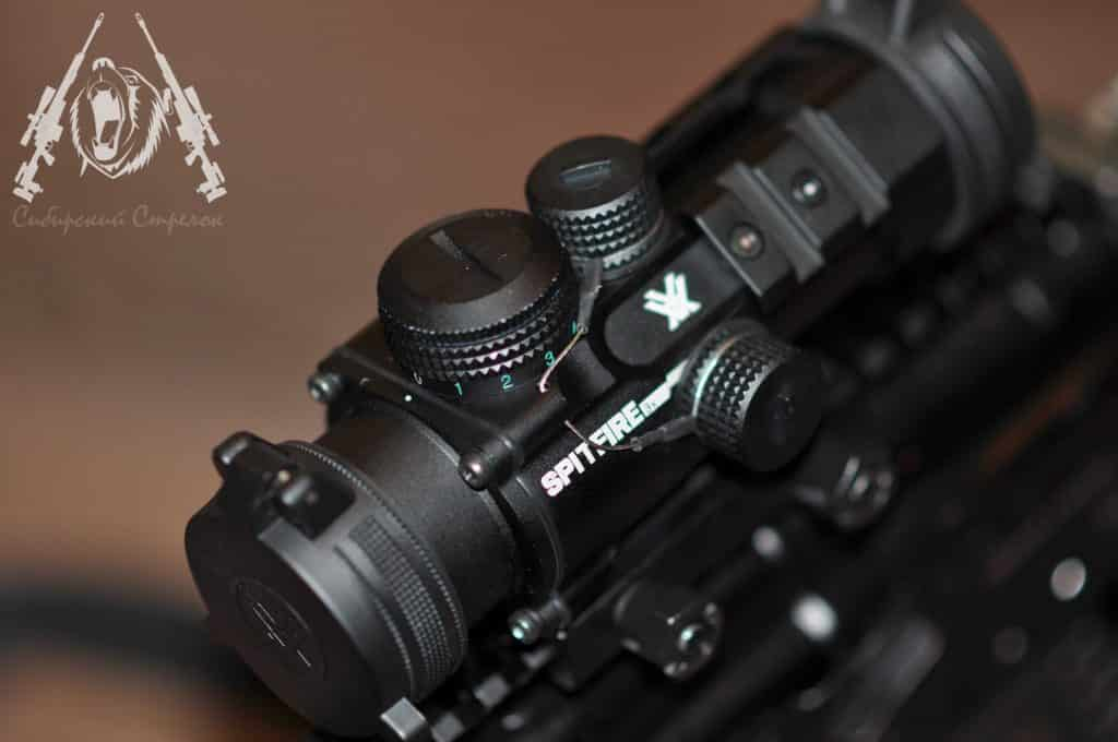 Vortex Optics SPR-1303 Spitfire 3x Review by an Ex Law Enforcement from Russia 15