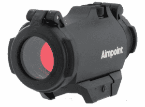 Micro H-2 Aimpoint 4MOA Red Dot Sight W/ Picatinny Mount and Flip Up Lens Covers 19