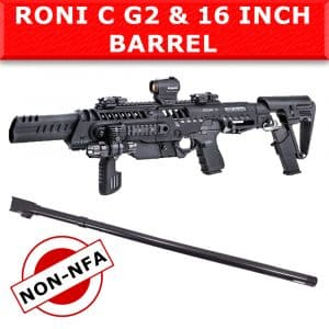 "NON NFA - CAA Roni C G2 & IGB 16"" Barrel for Glock 17, 22 & 31 4"