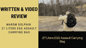 Written & Video Review: Marom Dolphin 27 Liters EGG Assault Carrying Bag