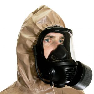 Protective CBRN HAZMAT Suit (MIRA Safety HAZ-SUIT) 1