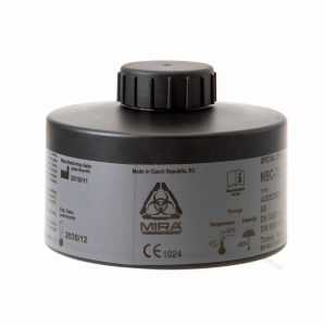 CBRN Gas Mask Filter - Protects Against CBRN Agents, Industrial Toxic Gases and More (MIRA Safety NBC-77) 1