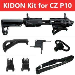 IMI Defense KIDON Innovative Pistol to Carbine Platform for CZ P10 – P10C & P10F 10