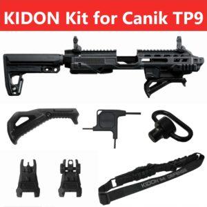IMI Defense KIDON Innovative Pistol to Carbine Platform for Canik TP9 – TP9SFX, TP9SF, TP9SA, TP9SF Elite-S, TP9SF Elite, TP9SF Elite Combat 9