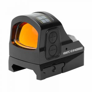 Holosun HS407C-V2 Red Dot / Circle Dot Reflex Sight With Shake Awake 17
