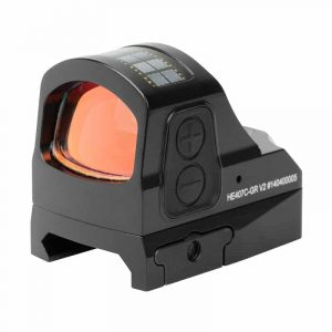 Holosun HE407C-GR V2 Green Dot / Circle Dot Reflex Sight With Solar Panel 7