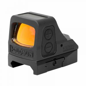 Holosun HE508T-GR V2 Green Dot / Circle Dot Reflex Sight With Solar Panel and Titanium 9