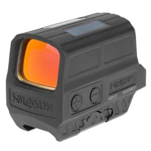 Holosun HE512T-GR Green Dot / Circle Dot Reflex Sight With Solar Panel and Titanium 14