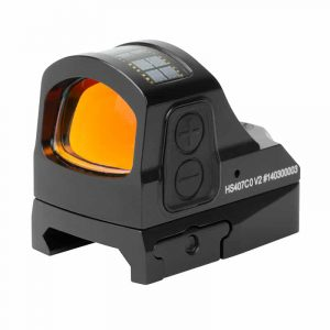 Holosun HS407CO V2 Red Dot / Circle Dot Reflex Sight With Shake Awake 235