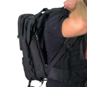 MASADA Armour MS_TACBAG Bulletproof Tactical Backpack Full Body Armor Bulletproof Vest 3A Protection Level Front On Side - TACTICAL 3