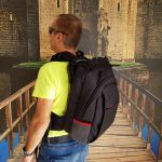 MASADA Armour MS_TACBAG Bulletproof Tactical Backpack Full Body Armor Bulletproof Vest 3A Protection Level On – Back Shot