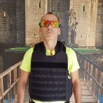 MASADA Armour MS_TACBAG Bulletproof Tactical Backpack Full Body Armor Bulletproof Vest 3A Protection Level On Front