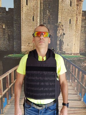 MASADA Armour Bulletproof Tactical Backpack Full Body Armor/Bulletproof Vest (IIIA) 3