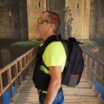 MASADA Armour MS_TACBAG Bulletproof Tactical Backpack Full Body Armor Bulletproof Vest 3A Protection Level On – Side Shot