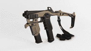 Recover Tactical MG9 Mag Grip 20-20 Tan on 2020S 3