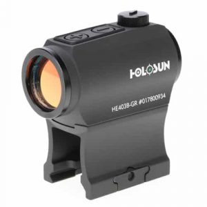 Holosun HE403B-GR Green Dot / Circle Dot Micro Sight With Shake Awake 5