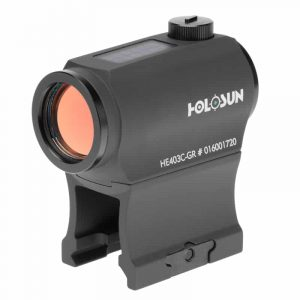 Holosun HE403C-GR Green Dot / Circle Dot Micro Sight With Solar Panel 206