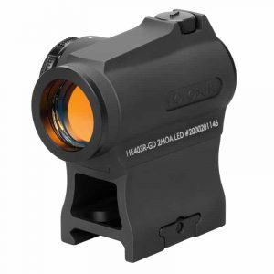 Holosun HE403R-GD Gold Dot / Circle Dot Micro Sight With Rotary Switch - easy to install and operate 6