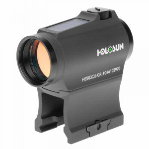 Holosun HE503CU-GR Green Dot / Circle Dot Micro Sight With Solar Panel 209