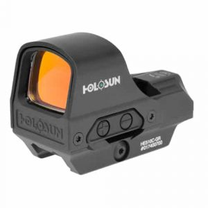 Holosun HE510C-GR Green Dot  / Circle Dot Reflex Sight with Solar Panel 12