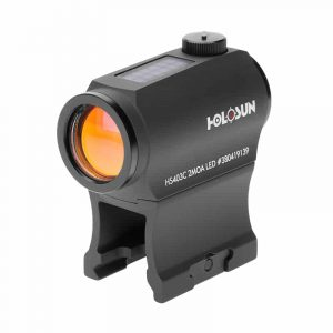 Holosun HS403C Red Dot / Circle Dot Micro Sight With Solar Panel and Shake Awake 232