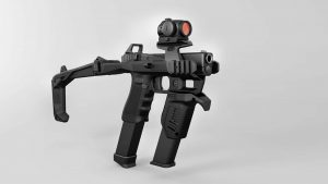 Recover Tactical 20-20 Upper Rail Red Dot Mount on 20-20 Black 3