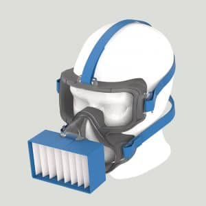 ViriMASK Protective Oculo-Respirator - Ultimate Protection Mask Against Coronavirus (COVID-19) - Protect from Viruses, Bacteria, Aerosols and Small Particles 6