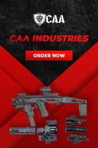 CAA Industries Israel Website Mobile 480x720