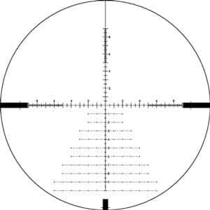 DBK-10029 Vortex Optics DIAMONDBACK® TACTICAL 6-24X50 FFP EBR-2C (MRAD) Reticle | 30 mm Tube Riflescope 2