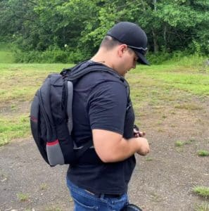 The Secret MASADA Bulletproof Backpack Converts To a Protective Bulletproof Vest IIIA