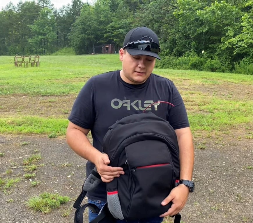 Bulletproof backpack transformed into a bulletproof vest level 3a is now back a bulletproof concealed backpack